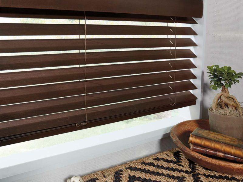 Hunter Douglas parkland wooden blinds